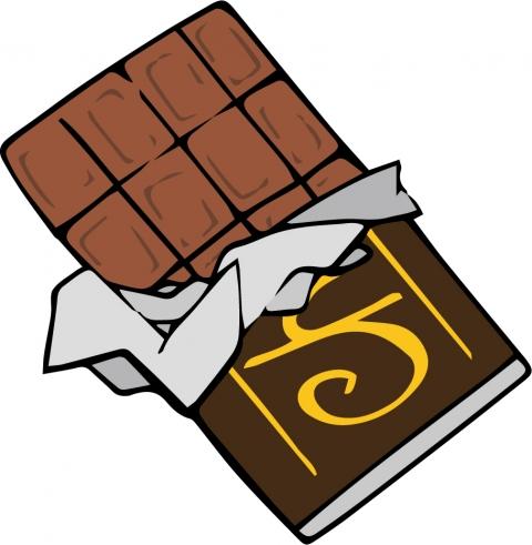 板チョコのイラスト 無料イラストのimt 商用ok 加工ok