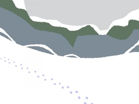 雪山の壁紙 無料イラストのimt 商用ok加工ok