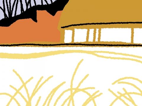 秋の田舎の壁紙 無料イラストのimt 商用ok 加工ok
