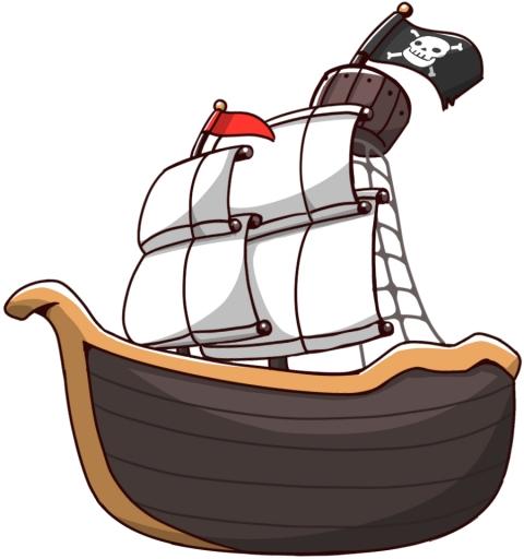 海賊船のかっこいいイラスト 無料イラストのimt 商用ok加工ok