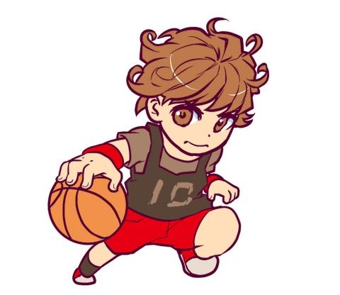 女性のバスケットボールの選手のイラスト 無料イラストのimt 商用ok