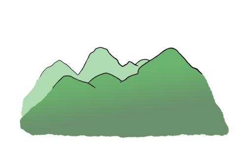山のイラスト 無料イラストのimt 商用ok加工ok