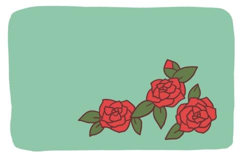 椿の花が咲いているイラスト 無料イラストのimt 商用ok加工ok