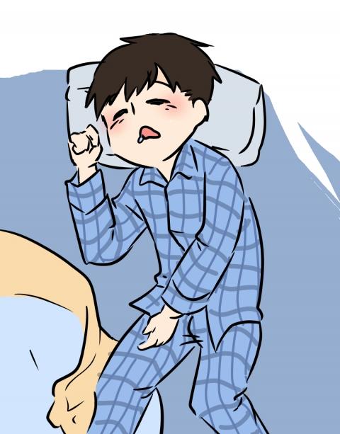 睡眠中の子供の眠そうなイラスト 無料イラストのimt 商用ok加工ok