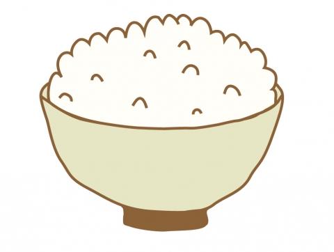 お茶碗にご飯が盛られているイラスト 無料イラストのimt 商用ok加工ok