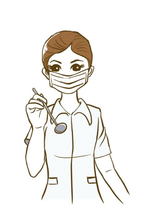 「無料女の画像 イラスト  歯科」の画像検索結果