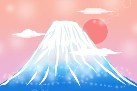 富士山のイラスト 無料イラストのimt 商用ok加工ok