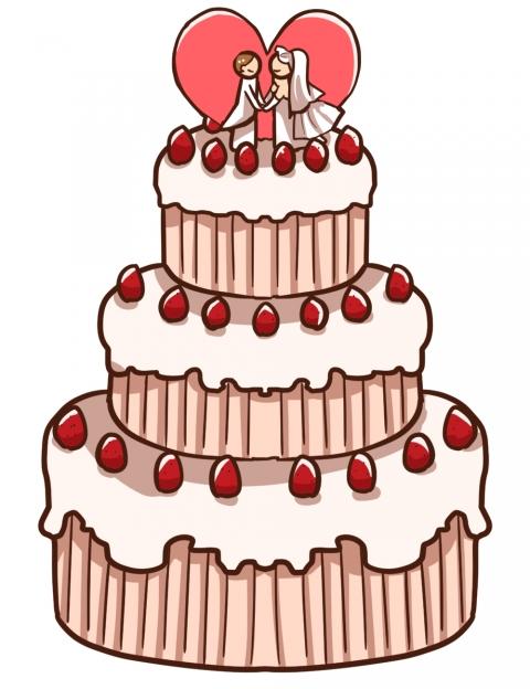 ウエディングケーキ ウエディングケーキ イラスト 無料   イラスト , 無料イラストのIMT
