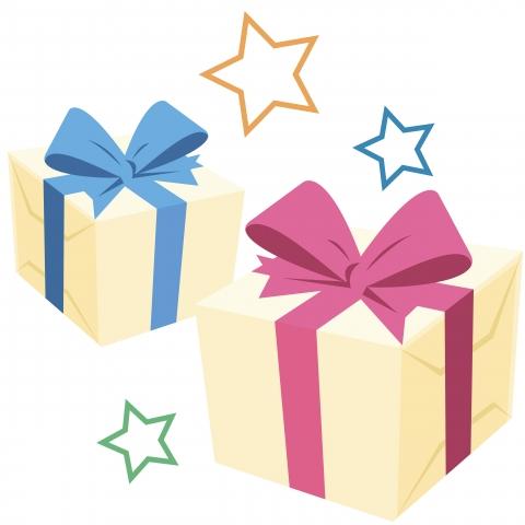 誕生日プレゼントのイラスト 無料イラストのimt 商用ok加工ok