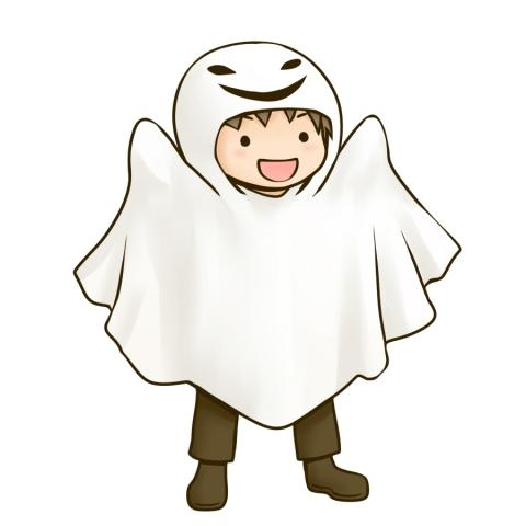 ハロウィンの仮装をする男の子のイラスト 無料イラストのimt 商用ok