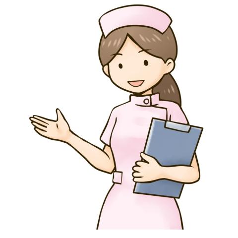 女性看護師のイラスト 無料イラストのimt 商用ok加工ok