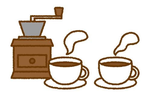 カップに入ったホットコーヒー2つのイラスト 無料イラストのimt 商用