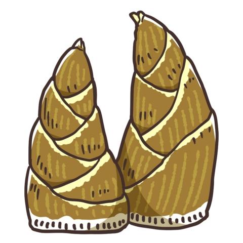 竹の子のイラスト 無料イラストのimt 商用ok加工ok