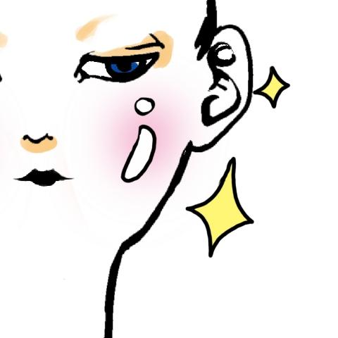 ほほがつるつるで健康的な肌の女性のイラスト 無料イラストのimt 商用