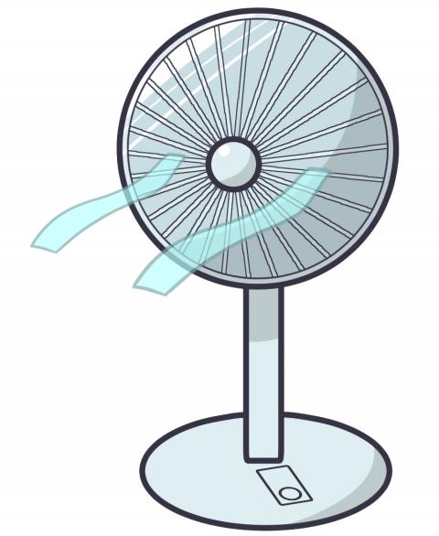 扇風機のイラスト 無料イラストのimt 商用ok加工ok