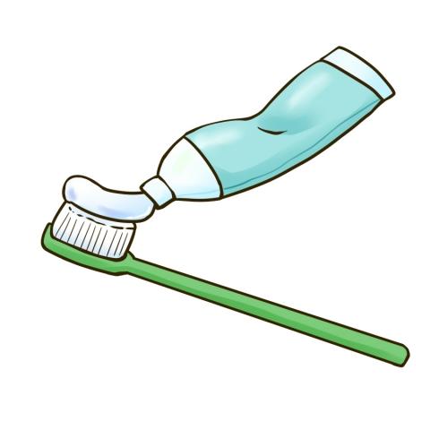 歯ブラシと歯磨き粉のイラスト 無料イラストのimt 商用ok加工ok