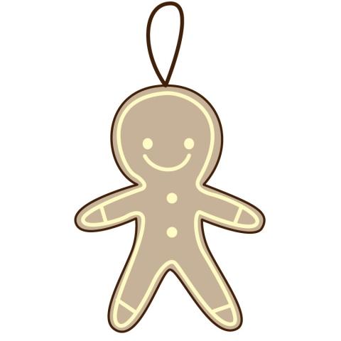 クッキー型オーナメントのイラスト 無料イラストのimt 商用ok加工ok