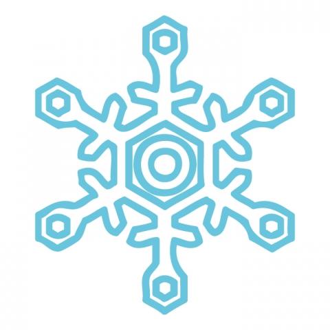 雪の結晶のイラスト 無料イラストのimt 商用ok加工ok