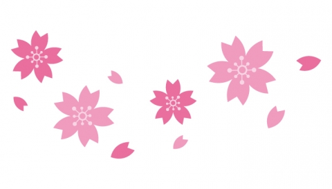 桜の花びらのイラスト 無料イラストのimt 商用ok加工ok