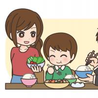 彼氏と食事をしている女性のイラスト 無料イラストのimt 商用ok加工ok