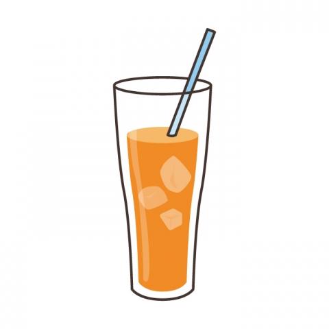 オレンジジュースのイラスト 無料イラストのimt 商用ok加工ok