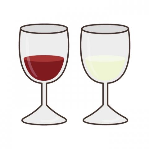 ワイングラスのワインのイラスト 無料イラストのimt 商用ok加工ok