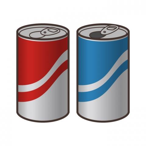 缶ジュースのイラスト 無料イラストのimt 商用ok加工ok