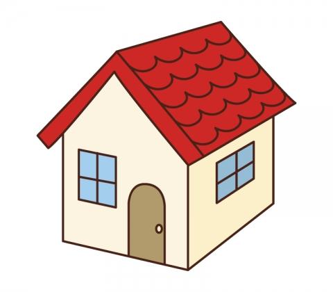 赤い屋根の家のイラスト 無料イラストのimt 商用ok加工ok