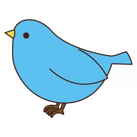 青い鳥のイラスト 無料イラストのimt 商用ok加工ok