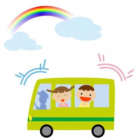バス旅行のイラスト 無料イラストのimt 商用ok加工ok