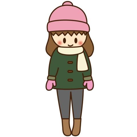 「冬 服装 イラスト」の画像検索結果