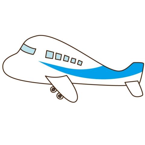 飛行機のシンプルなイラスト 無料イラストのimt 商用ok加工ok