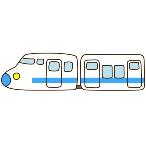 新幹線のかわいいイラスト 無料イラストのimt 商用ok加工ok