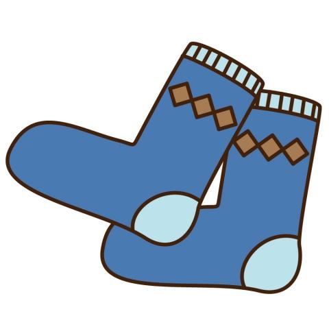 靴下ダイヤ柄のイラスト , 無料イラストのIMT 商用OK、加工OK