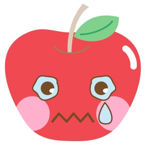 泣いた顔のアイコンのイラスト 無料イラストのimt 商用ok加工ok