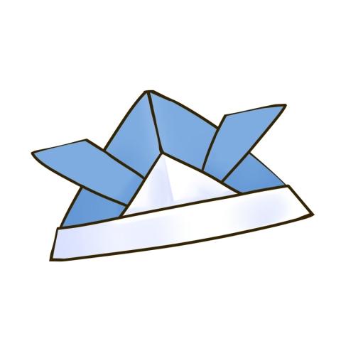 飛行機 折り紙 : 折り紙 イラスト : illust-imt.jp