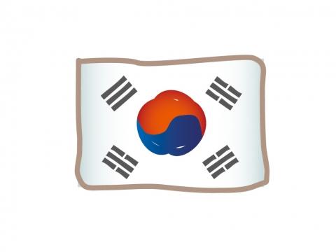 かわいい韓国の国旗イラスト 無料イラストのimt 商用ok加工ok