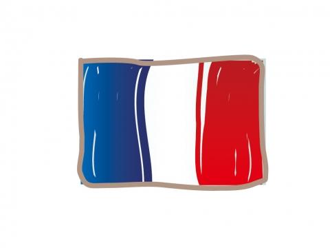 かわいいフランスの国旗イラスト 無料イラストのimt 商用ok加工ok