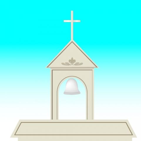 教会の鐘のイラスト 無料イラストのimt 商用ok加工ok