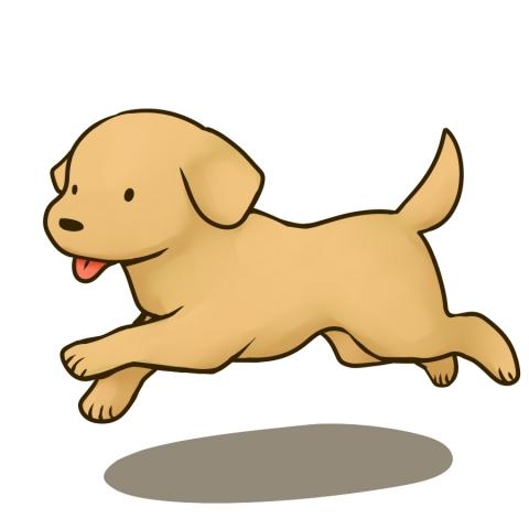 走る犬のイラスト 無料イラストのimt 商用ok加工ok