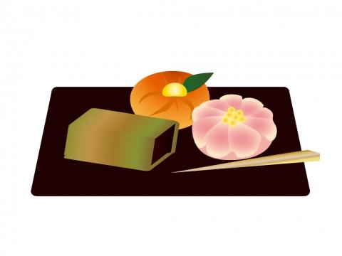 和菓子のイラスト 無料イラストのimt 商用ok加工ok